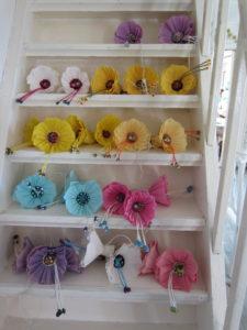 17.juni-blomster i trappa