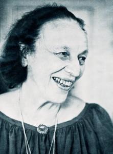 Portretter av Ingeborg Refling Hagen, samt hennes ex-libris.