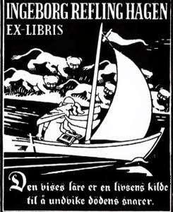 IngeborgReflingHagen_ExLlibris kopi
