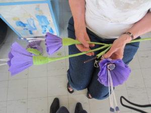 Montering, 17.juni-blomster